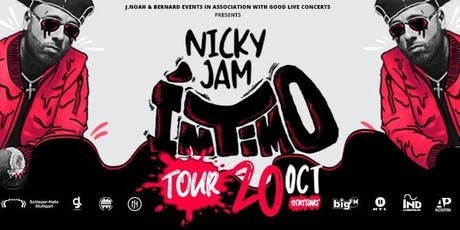 "Nicky Jam  ""Intimo Tour"" 2019 Tickets"