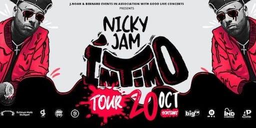 """Nicky Jam  """"Intimo Tour"""" 2019"""