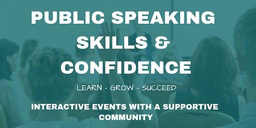 Public Speaking Skills & Confidence FREE Event - Fearlessly Speak in Public!