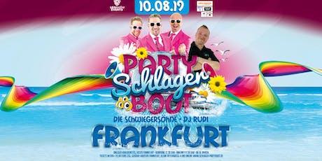 Hossa - Das Schlagerboot - Frankfurt Tickets