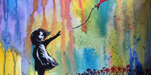 Paint Street Art! Afternoon, Birmingham, Sunday 29 September