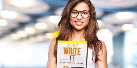 MASTERCLASS: Just Write It for Budding Authors tickets