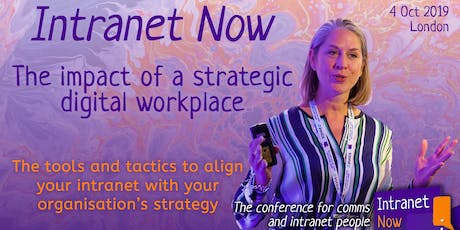 Intranet Now — the conference for comms and intranet people tickets
