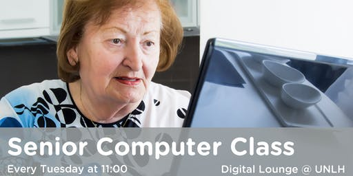 Senior Computer Classes @ Upper Norwood Library Hub