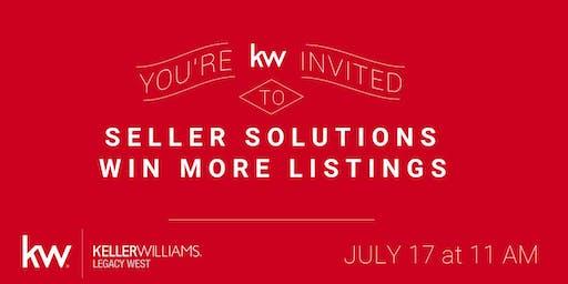 Seller Solutions (aka Win More Listings!)