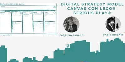 Digital Strategy Model Canvas con LEGO® Serious PLAY®