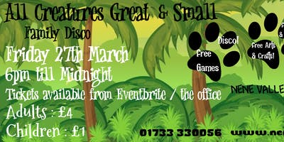 All Creatures Great and Small Family disco