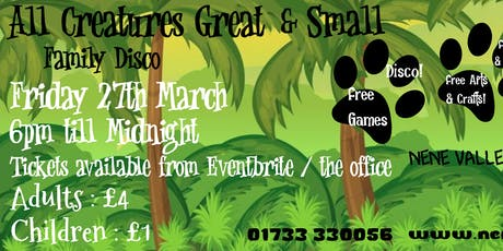 All Creatures Great and Small Family disco tickets