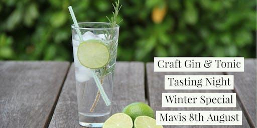 Craft Gin & Tonic Tasting Night Winter Special - Mavis & Co Hamilton East