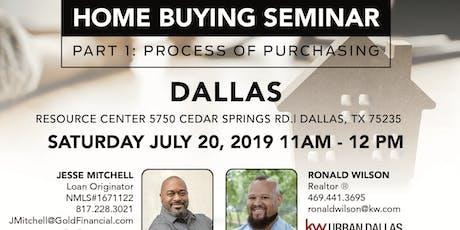 Home Buying Seminar: Part 1 - Dallas tickets