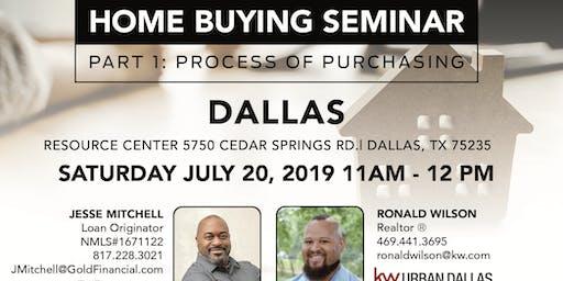 Home Buying Seminar: Part 1 - Dallas