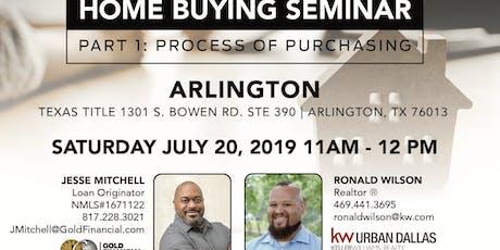 Home Buying Seminar: Part 1 - Arlington tickets