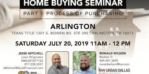 Home Buying Seminar: Part 1 - Arlington
