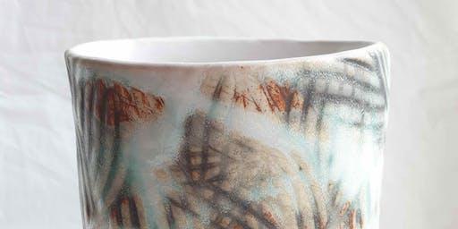 Hand Building - Textured Vase - Kylie Rose McLean