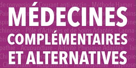 Ouvrage Médecines Complémentaires et Alternatives (signatures auteurs) billets