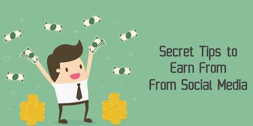 Secret Tips To Earn From Social Media 010