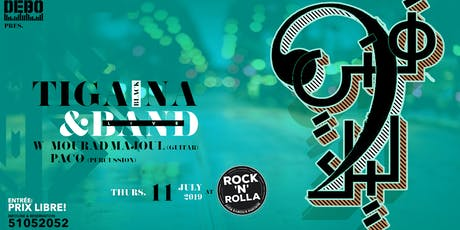Tiga Black'Na & Band fi Rock'N'Rolla billets