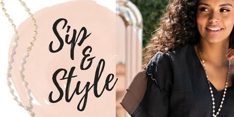 Sip & Style! tickets