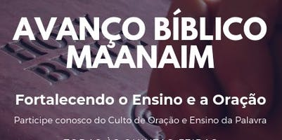 Avanço Bíblico Maanaim