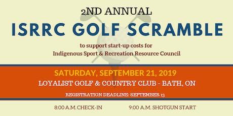 2nd Annual ISRRC Golf Scramble tickets