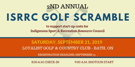 2nd Annual ISRRC Golf Scramble