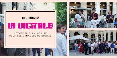 La DIGITALE fait sa rentrée à Paris billets