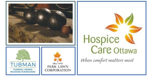 Petanque for Hospice Care Ottawa