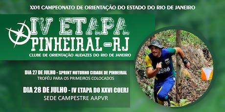 4ª Etapa do XXVI Campeonato de Orientação do Rio de Janeiro ingressos