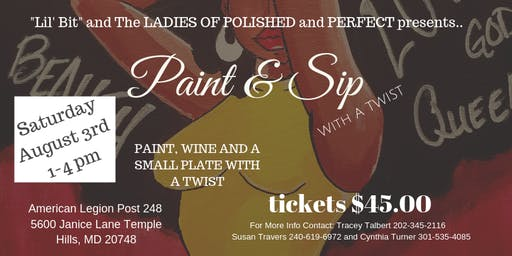 Paint and Sip With A Twist