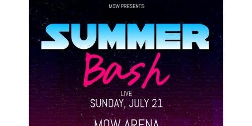 MOW Summer Bash