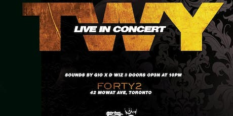 Twy Live In Toronto tickets