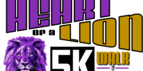 Heart of a Lion 5K Walk/Run tickets