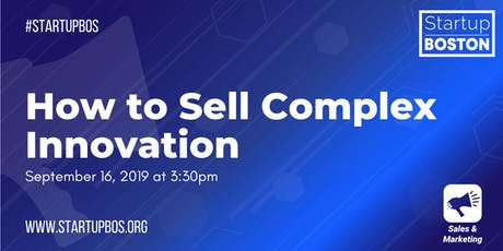 How to Sell Complex Innovation tickets