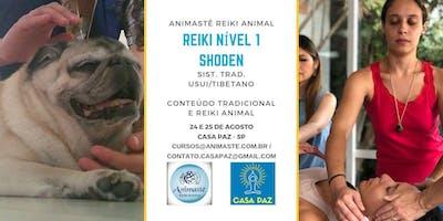 Curso de Reiki Nível 1 - Shoden (Conteúdo tradicional e Reiki Animal)