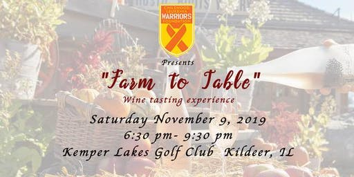 Childhood Leukemia Warriors 3rd Annual Wine Tasting