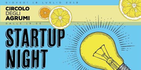 StartUp Night Roma biglietti