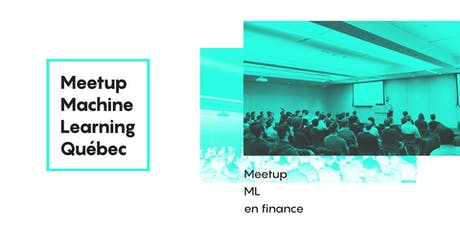 Meetup ML en finance billets