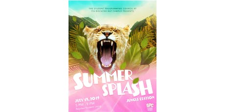 Summer Splash #JungleEdition  tickets