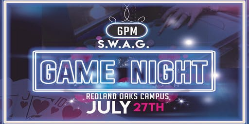 S.W.A.G. Singles Game Night