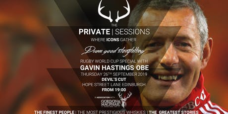 The Private Sessions, in association with Gordon & MacPhail: Gavin Hastings tickets