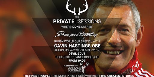 The Private Sessions, in association with Gordon & MacPhail: Gavin Hastings