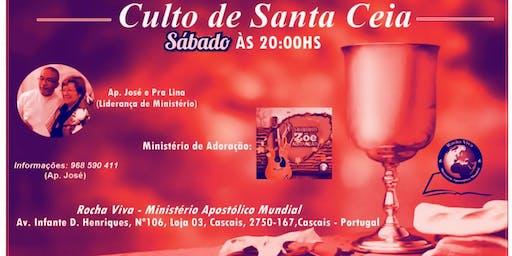 Culto de Santa Ceia (Agosto 2019) - Rocha Viva Cascais