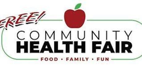 FREE COMMUNITY HEALTH FAIR!! tickets