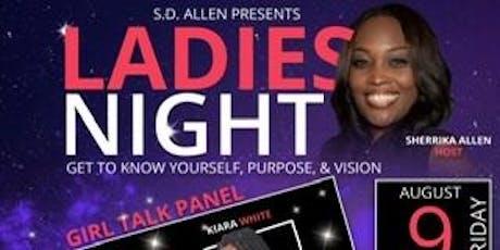 S D Allen Presents Ladies Night tickets