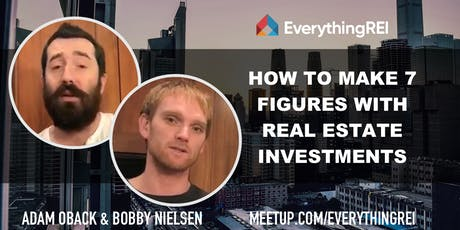 How to Make 7 Figures With Real Estate Investments tickets