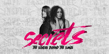 Secrets: The Stories Behind The Songs tickets