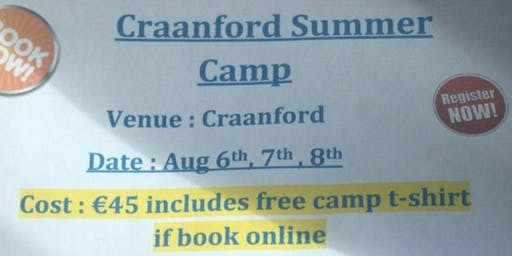 Craanford Summer Camp 2019