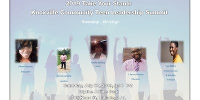 2019 Take Your Stand: Knoxville CommunityTeen Leadership Summit