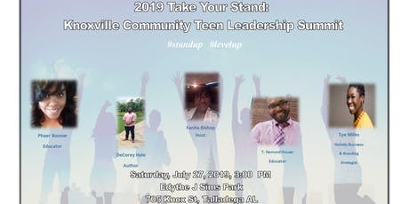 2019 Take Your Stand: Knoxville CommunityTeen Leadership Summit tickets
