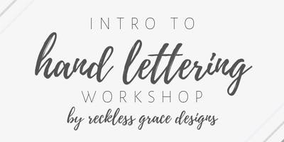 Intro to Hand Lettering Workshop